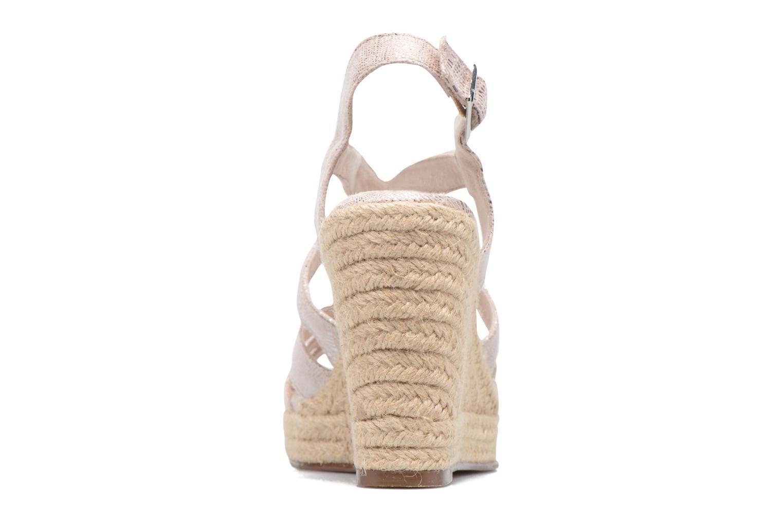 Sandales et nu-pieds Tamaris Pobafu Rose vue droite