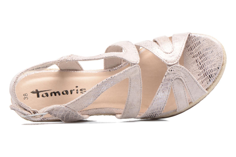 Sandales et nu-pieds Tamaris Pobafu Rose vue gauche