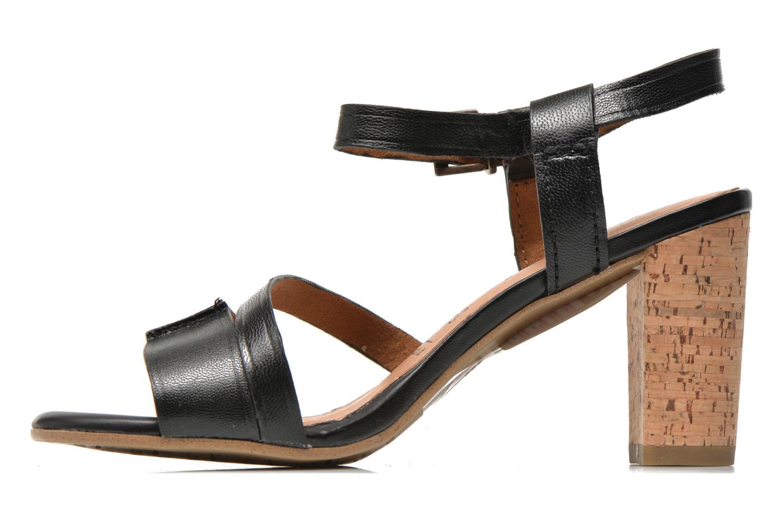 Sandales et nu-pieds Tamaris Mosuly Noir vue face