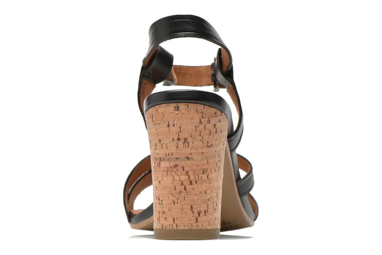 Sandales et nu-pieds Tamaris Mosuly Noir vue droite