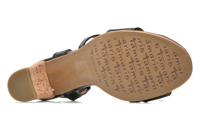 Sandales et nu-pieds Tamaris Mosuly Noir vue haut