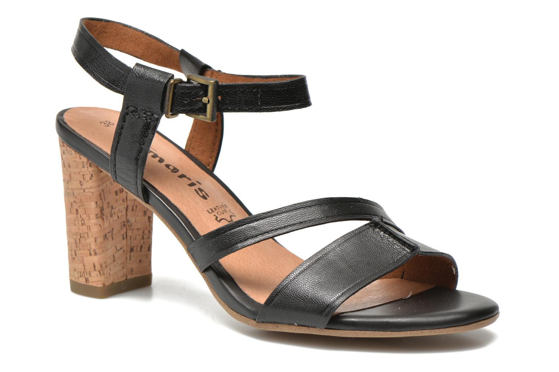 Sandales et nu-pieds Tamaris Mosuly Noir vue détail/paire