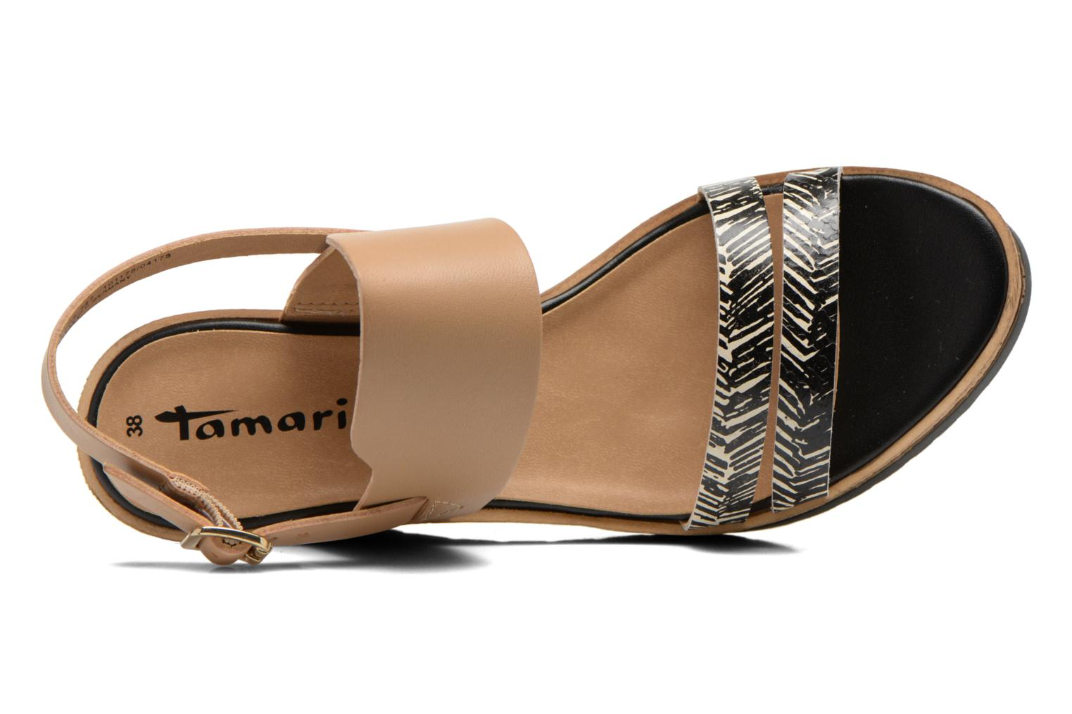 Sandals Tamaris Dukoka Multicolor view from the left