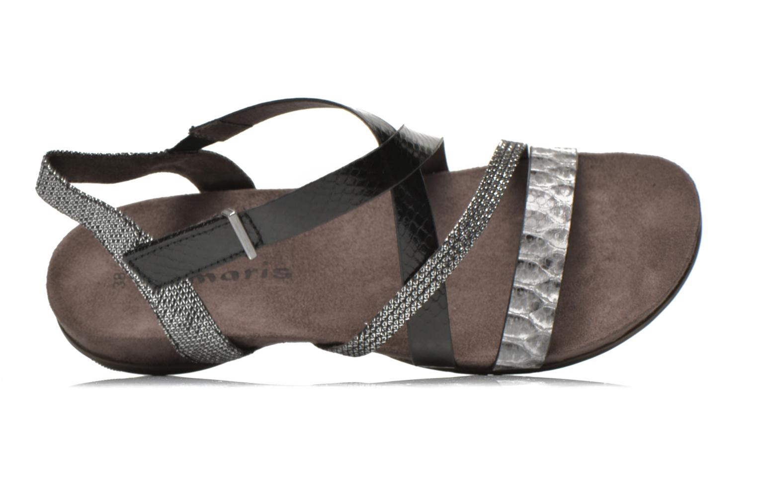 Sandals Tamaris Nurina Black view from the left