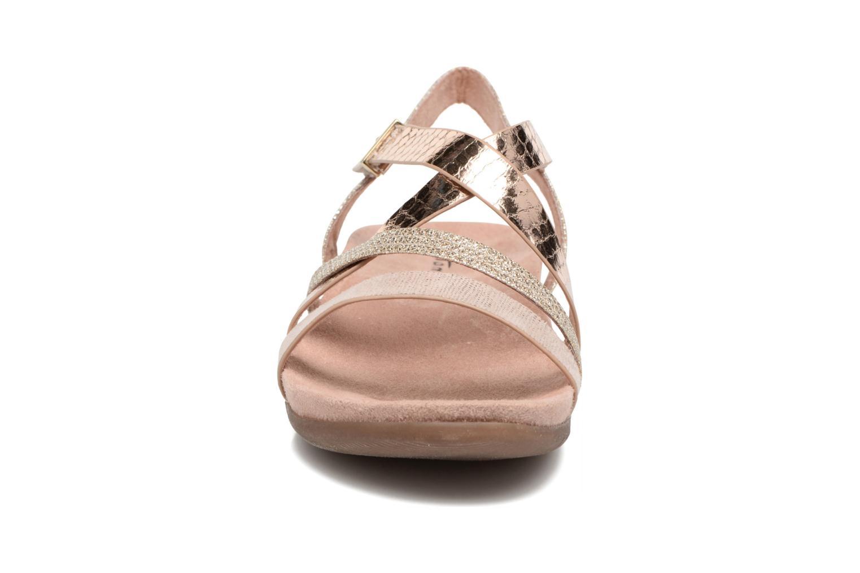 Sandalen Tamaris Nurina rosa schuhe getragen