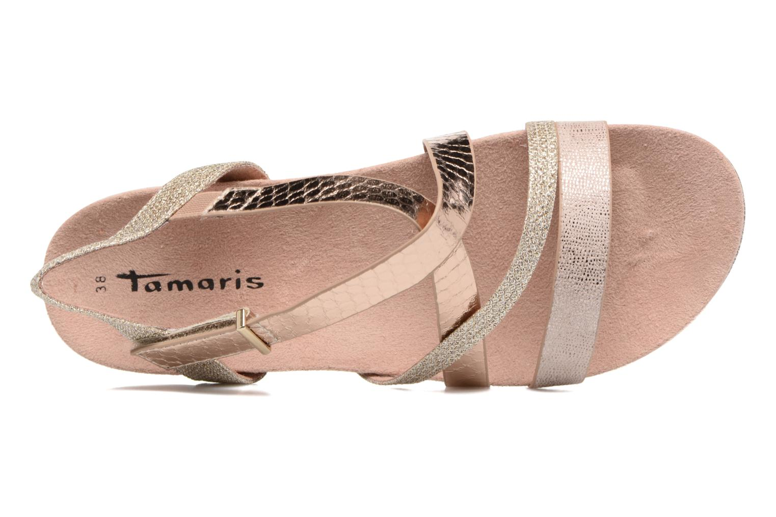 Sandals Tamaris Nurina Pink view from the left