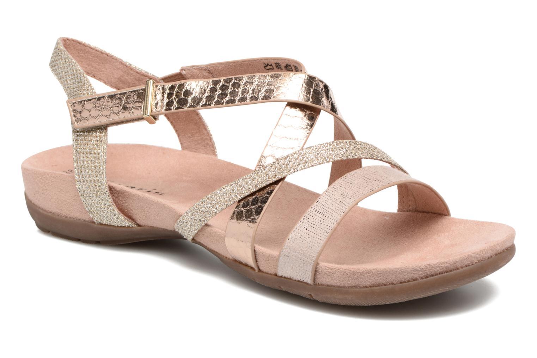 Sandales et nu-pieds Tamaris Nurina Rose vue détail/paire