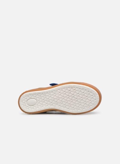 Baskets Bisgaard Joes Bleu vue haut