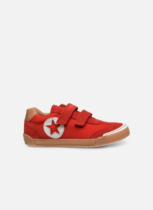 Sneakers Bisgaard Joes Röd bild från baksidan