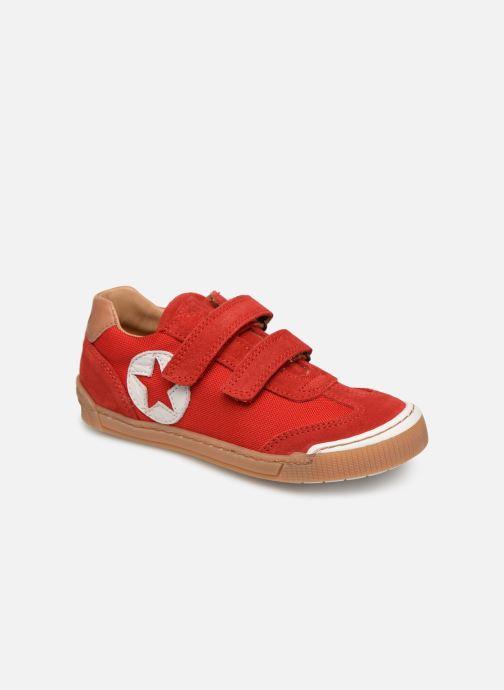Sneakers Bisgaard Joes Röd detaljerad bild på paret