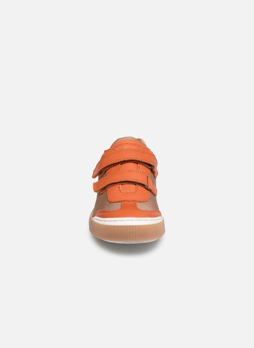 Baskets Bisgaard Joes Orange vue portées chaussures