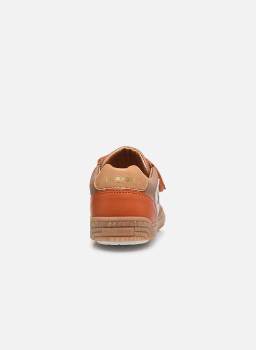 Baskets Bisgaard Joes Orange vue droite