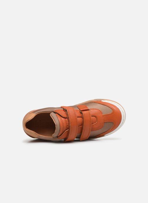 Baskets Bisgaard Joes Orange vue gauche