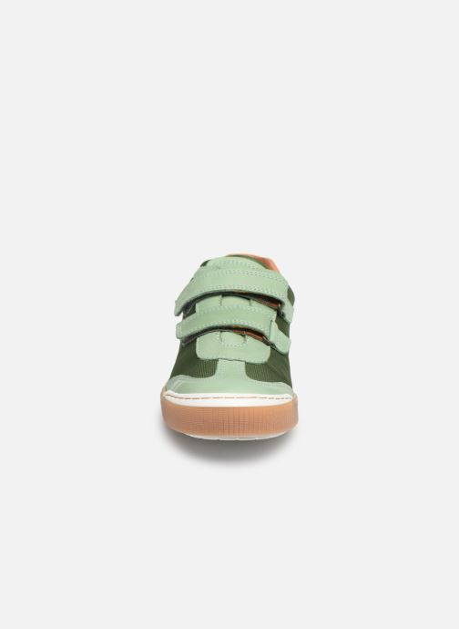 Baskets Bisgaard Joes Vert vue portées chaussures