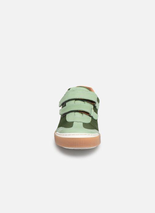 Sneakers Bisgaard Joes Verde modello indossato