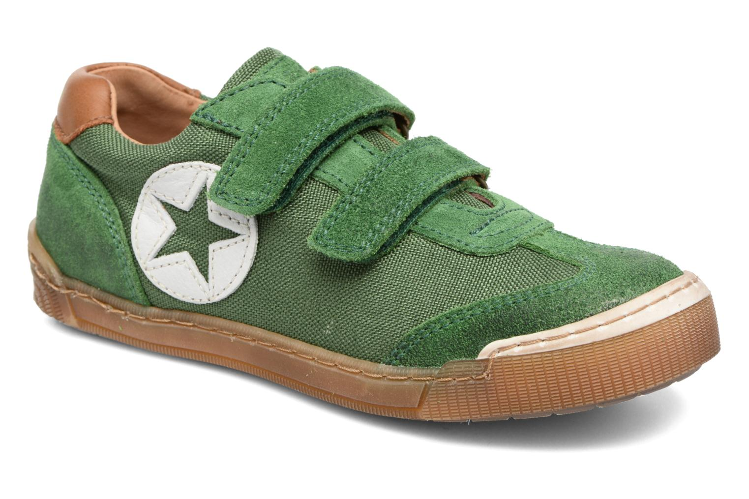 Trainers Bisgaard Christiansen Green detailed view/ Pair view
