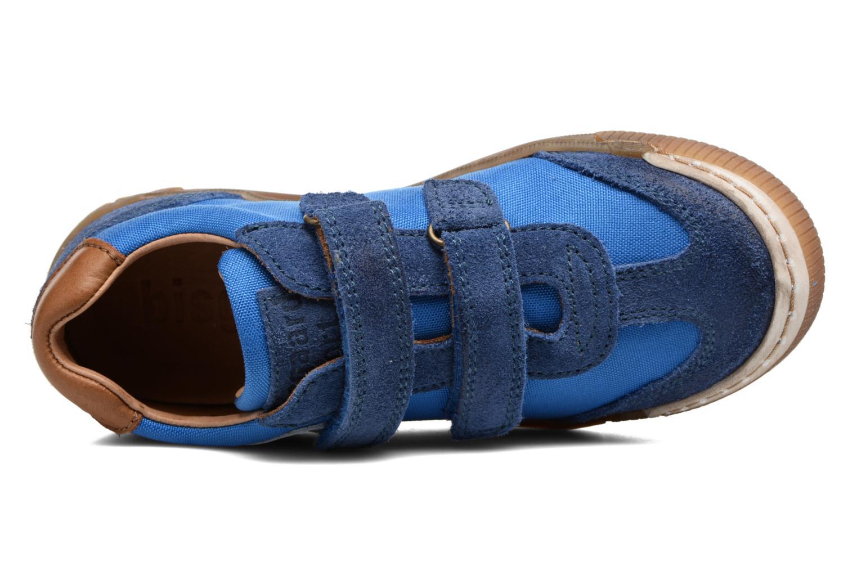 Baskets Bisgaard Christiansen Bleu vue gauche