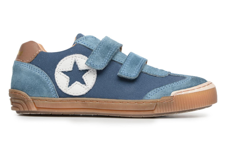 Sneaker Bisgaard Christiansen blau ansicht von hinten