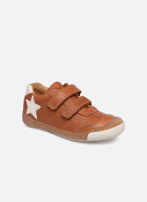 Sneaker Bisgaard Didrik braun detaillierte ansicht/modell