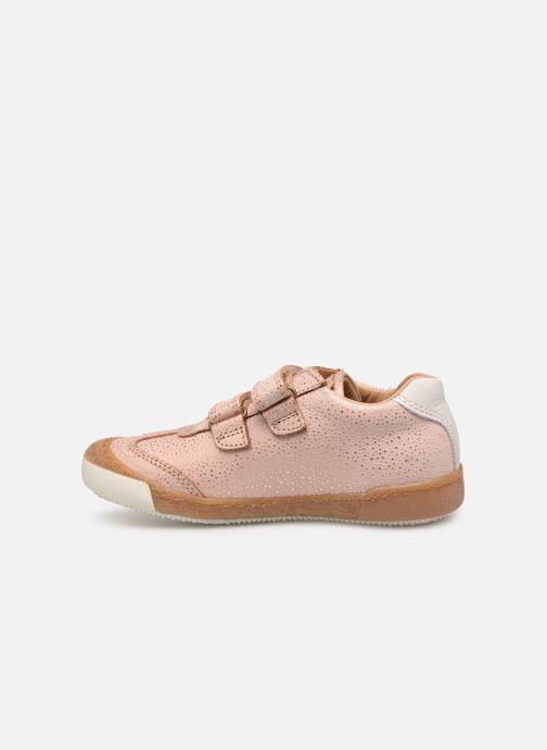 Sneaker Bisgaard Didrik rosa ansicht von vorne