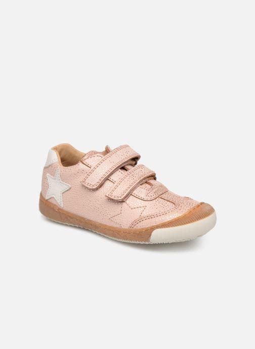 Sneakers Bisgaard Didrik Pink detaljeret billede af skoene