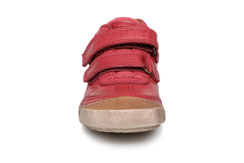Baskets Bisgaard Didrik Rose vue portées chaussures