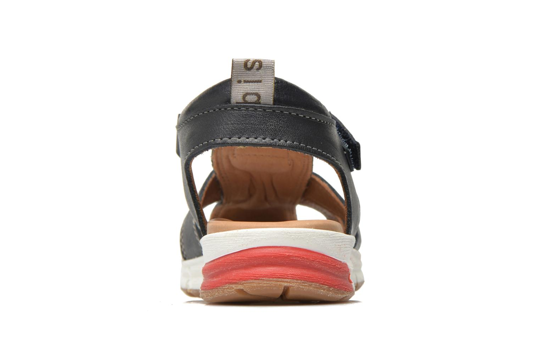Sandales et nu-pieds Bisgaard Bent Bleu vue droite