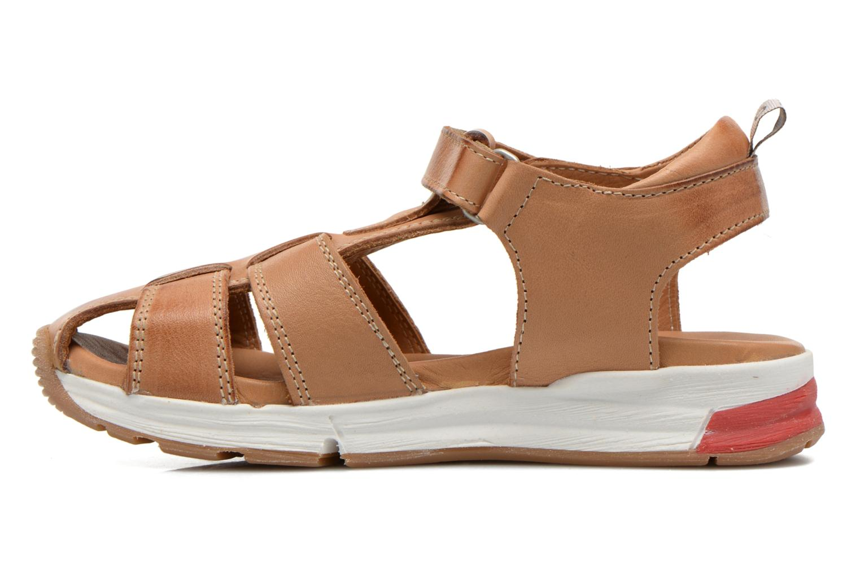 Sandales et nu-pieds Bisgaard Bent Marron vue face