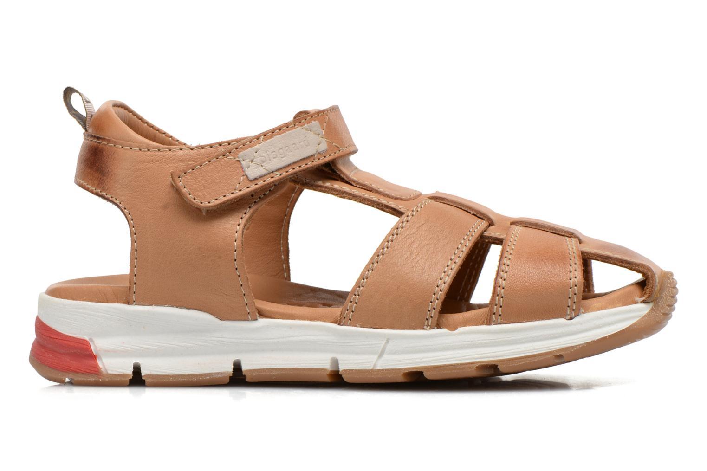 Sandales et nu-pieds Bisgaard Bent Marron vue derrière