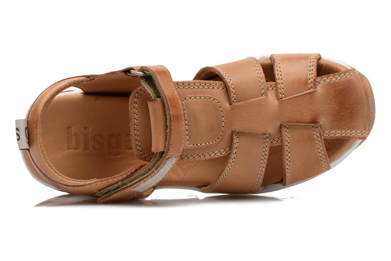 Sandales et nu-pieds Bisgaard Bent Marron vue gauche