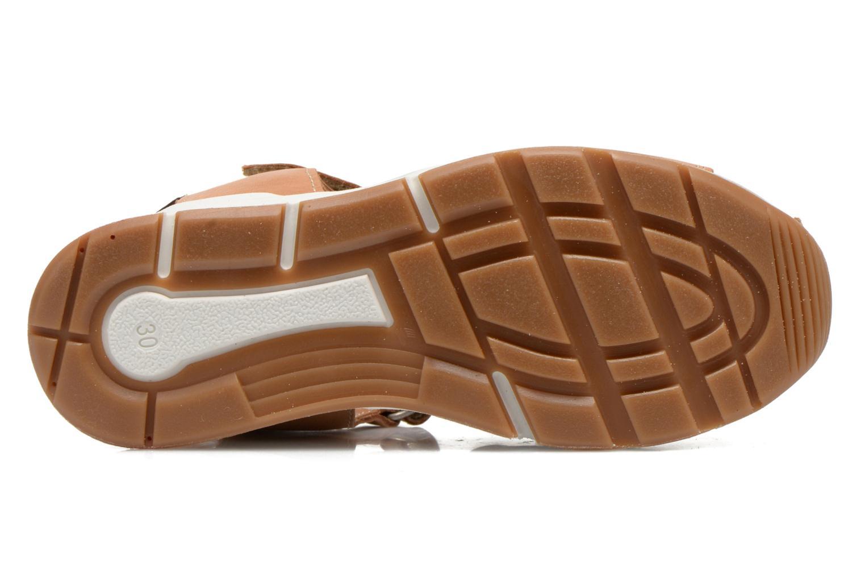 Sandales et nu-pieds Bisgaard Bent Marron vue haut