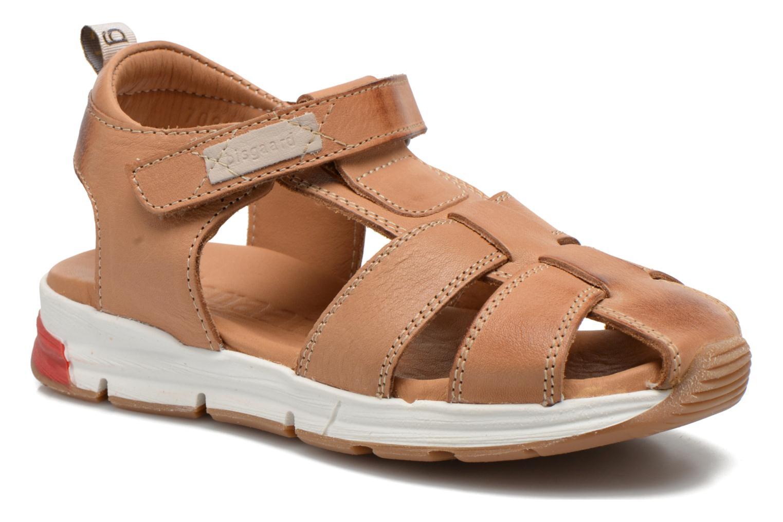 Sandales et nu-pieds Bisgaard Bent Marron vue détail/paire