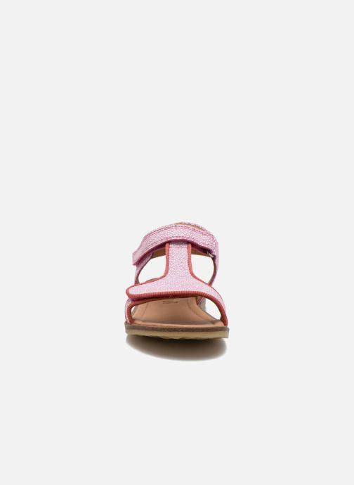 Sandalen Bisgaard Phoebe rosa schuhe getragen