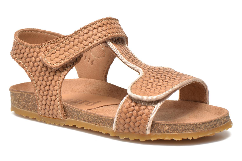 Sandales et nu-pieds Bisgaard Alia Beige vue détail/paire