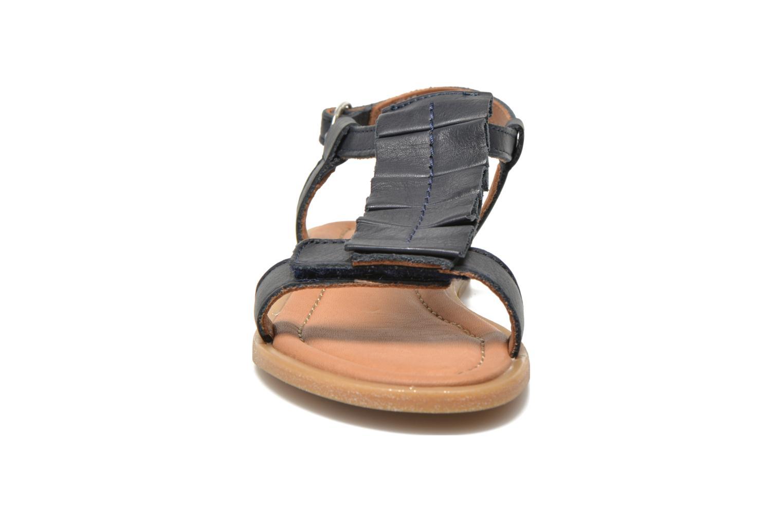 Sandales et nu-pieds Bisgaard Vinie Bleu vue portées chaussures