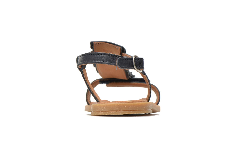 Sandales et nu-pieds Bisgaard Vinie Bleu vue droite