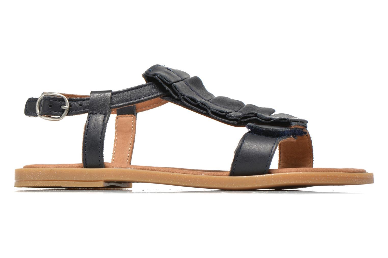 Sandales et nu-pieds Bisgaard Vinie Bleu vue derrière