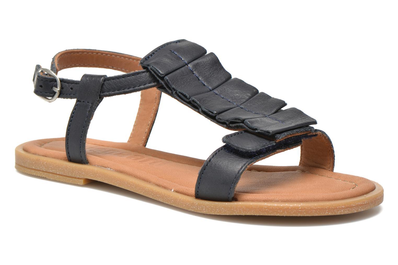 Sandales et nu-pieds Bisgaard Vinie Bleu vue détail/paire