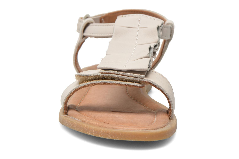 Sandales et nu-pieds Bisgaard Vinie Blanc vue portées chaussures