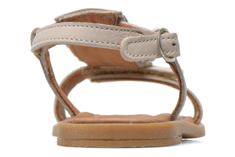 Sandales et nu-pieds Bisgaard Vinie Blanc vue droite