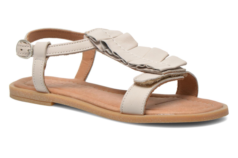 Sandales et nu-pieds Bisgaard Vinie Blanc vue détail/paire