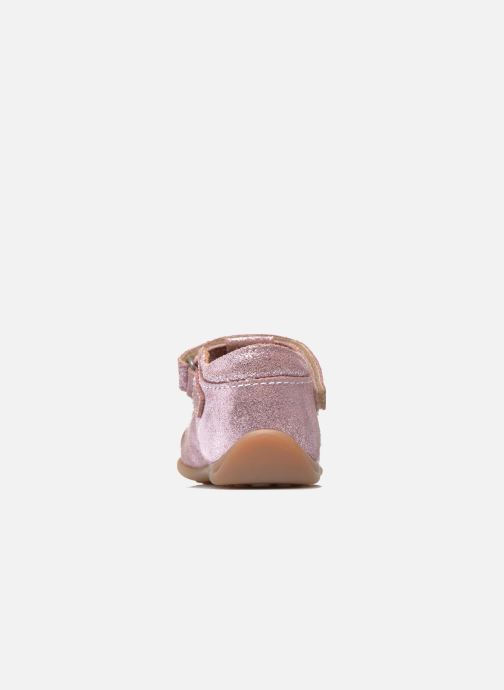 Velcro shoes Bisgaard Tia Pink view from the right