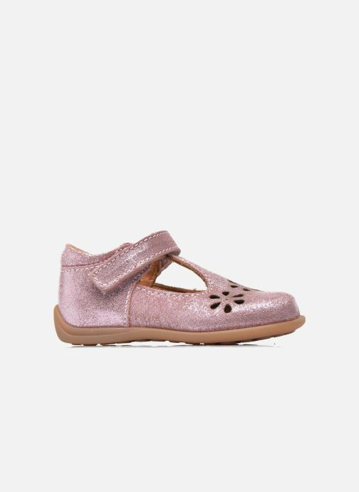 Velcro shoes Bisgaard Tia Pink back view