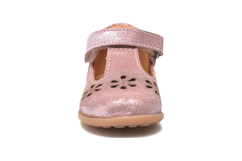 Chaussures à scratch Bisgaard Tia Rose vue portées chaussures