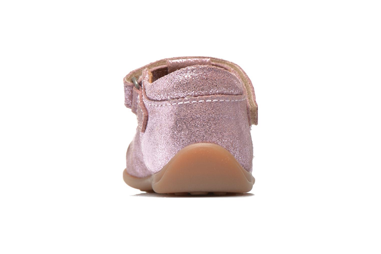 Chaussures à scratch Bisgaard Tia Rose vue droite