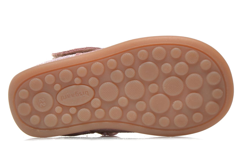 Chaussures à scratch Bisgaard Tia Rose vue haut