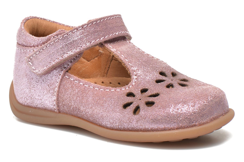 Chaussures à scratch Bisgaard Tia Rose vue détail/paire