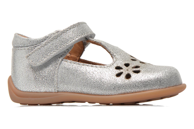 Chaussures à scratch Bisgaard Tia Argent vue derrière
