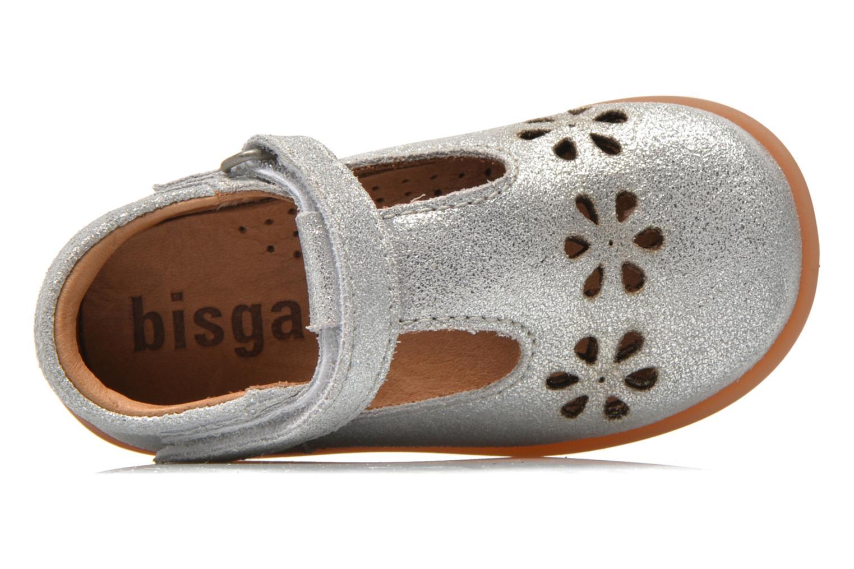 Chaussures à scratch Bisgaard Tia Argent vue gauche