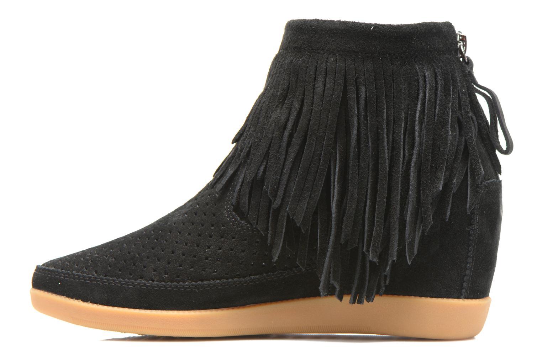 Bottines et boots Shoe the bear Emmy Fringes Noir vue face